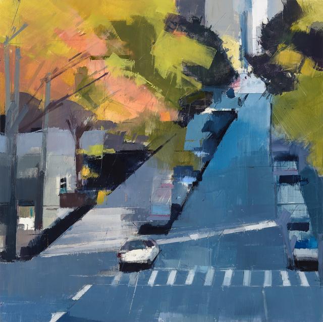 , 'Blue Street,' 2014, Kathryn Markel Fine Arts