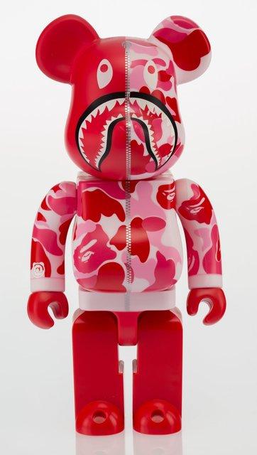 BAPE, 'Shark Hoddie Be@rbrick 400% (Red)', 2015, Heritage Auctions