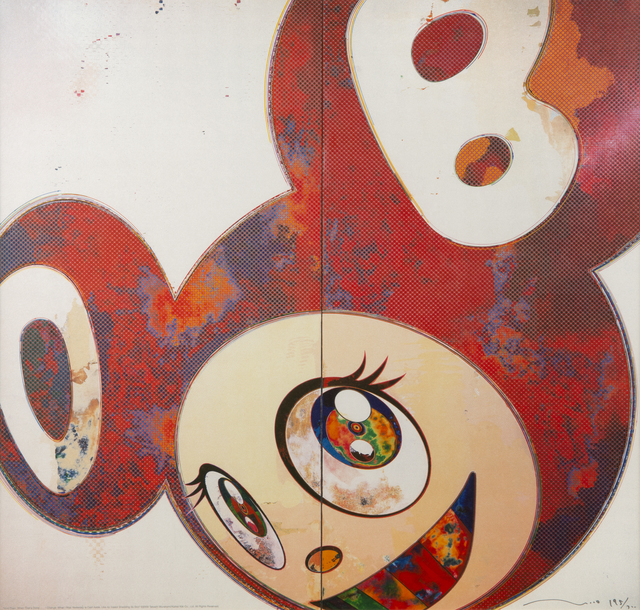 Takashi Murakami, 'And Then When That's Done... (Red)', 2009, Julien's Auctions
