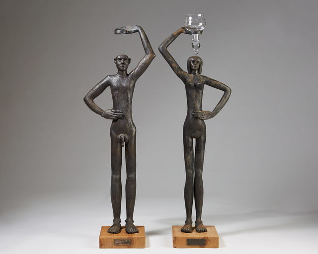 , 'Pair of sculptures,' 1960-1969, Modernity