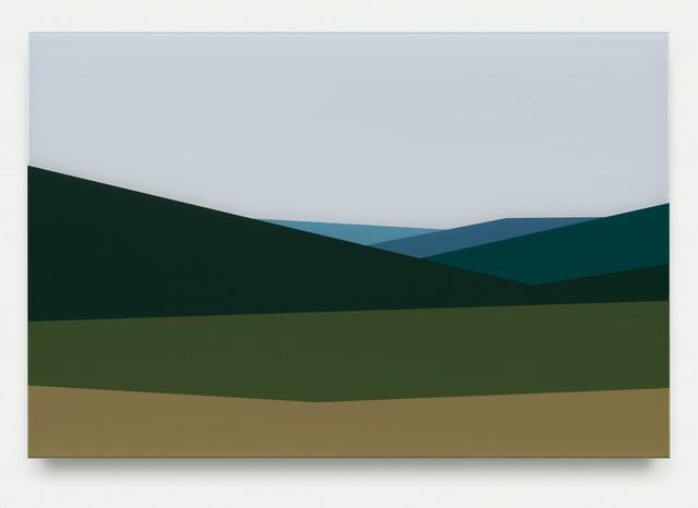 , 'Hills 3,' 2017, Krobath