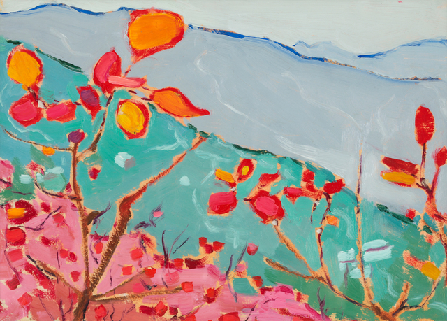 , '黄栌 Smoketree,' 1976, Galerie Krinzinger