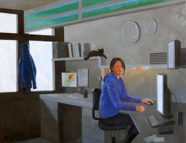 , 'Weather Station Mount Washington,' 2019, The Galleries at Salmagundi
