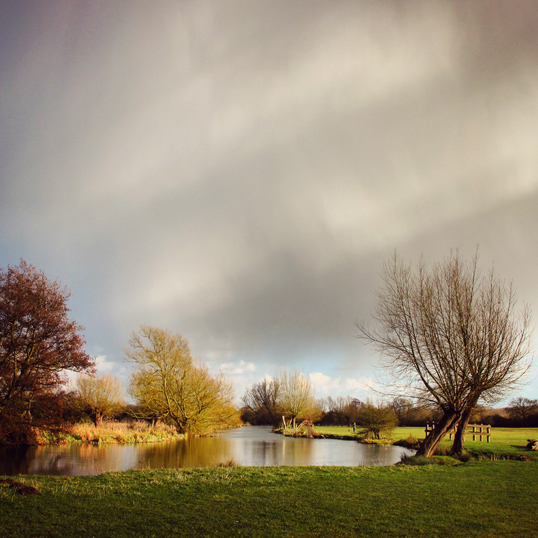 , 'View of the Stour near Flatford,' 2015, Mercedes Viegas Arte Contemporânea