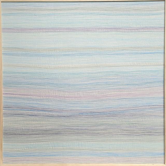 Inkyo Back, 'H.A.Z.E. (blue - purple)', 2014, Michael Warren Contemporary