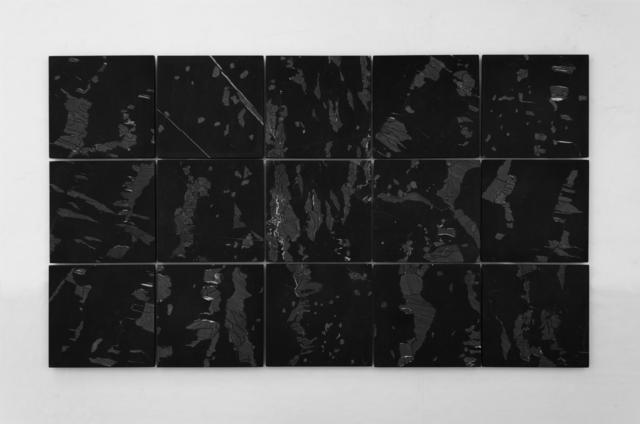 , 'Sobre fragmentos de montañas ,' 2018, Machete