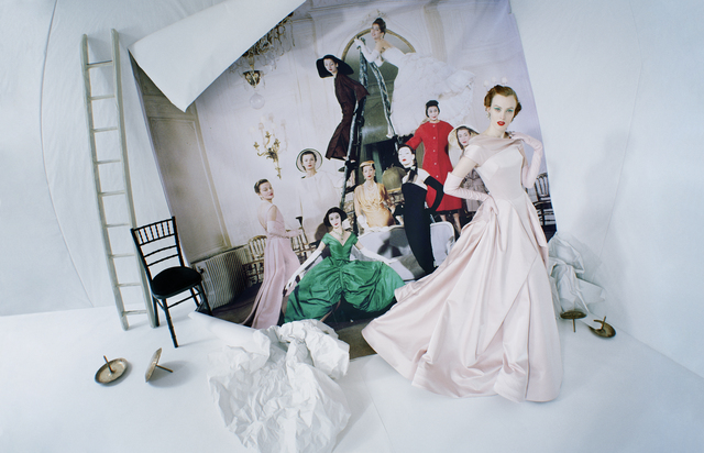 Tim Walker, 'Karen Elson emerging from Loomis Dean's photograph, 'Made to Order, Christian Dior'. London, 2014', 2019, Photography, Archival pigment print, Michael Hoppen Gallery