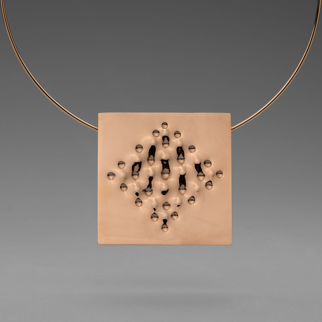 , 'Superficie necklace,' 2012, Elisabetta Cipriani