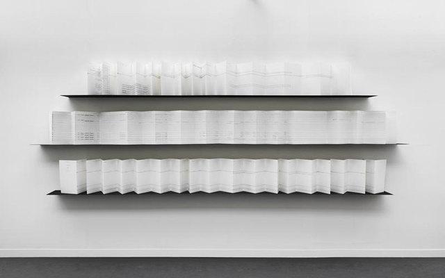 , 'The Breathing Line,' 2012, Marian Goodman Gallery