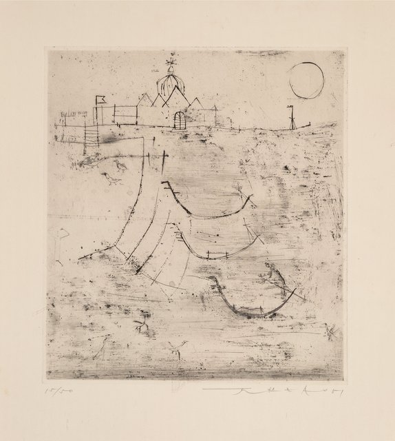 Zao Wou-Ki 趙無極, 'Venise', 1951, Print, Etching on paper, Heritage Auctions