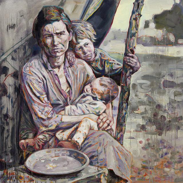 , 'Migrant Mother: Mealtime,' 2016, Rena Bransten Gallery
