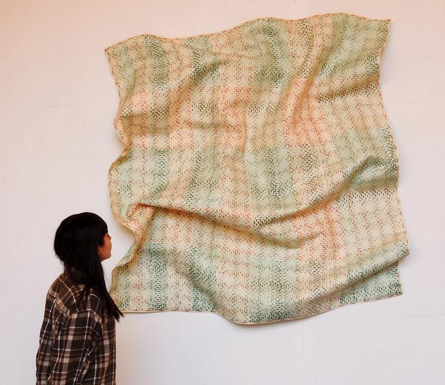 , 'Simple Magma (Green Lots),' 2015, Lisa Sette Gallery