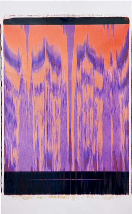 Moire Multichrome (Orange and Purple)
