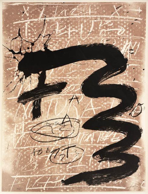 Antoni Tàpies, 'Antoni Tapies, Untitled, screenprint, signed, 1992', 1992, Shapero Modern