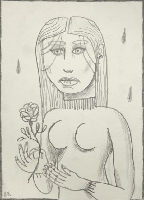 , 'Girl with Flower,' 206, Tim Van Laere Gallery