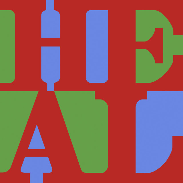 Robert Indiana, 'HEAL (Red, Green, Blue Variation)', 2015, Puccio Fine Art