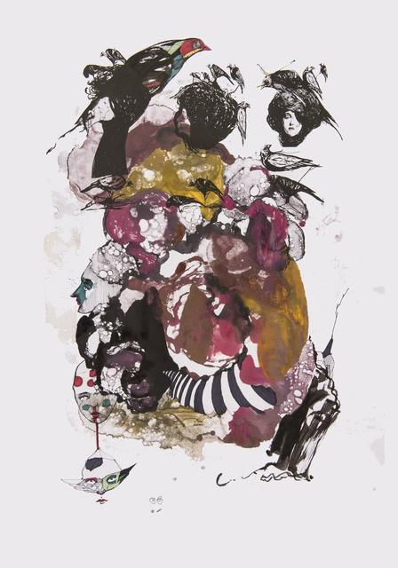 Frank David Valdés, 'Circumstance 1', 2018, Painting, Mixed media on paper, ArteMorfosis - Cuban Art Platform