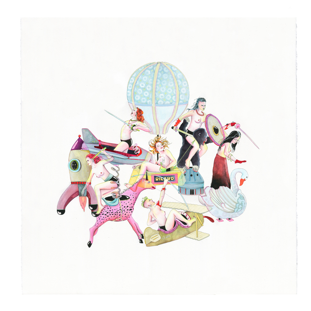Delphine Lebourgeois, 'Le Manege ', 2019, Hang-Up Gallery