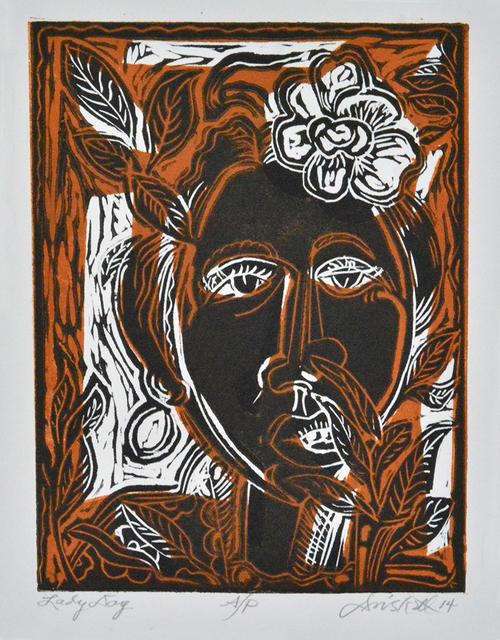 , 'Lady Day (AP),' 2014, Greenhut Galleries