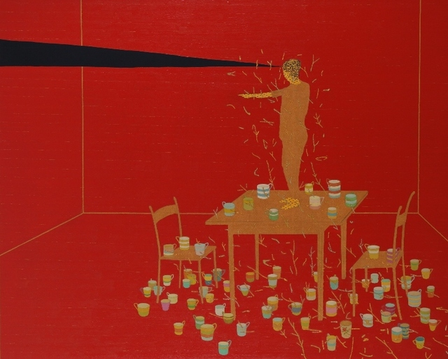 Stephen Chambers, 'Collector Of Thousand Cups', 2002, Galerie Frank Pages