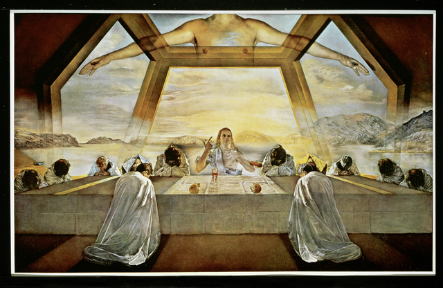 Salvador Dalí, 'The Sacrament of the Last Supper', 1955, Painting, Oil on canvas, Erich Lessing Culture and Fine Arts Archive