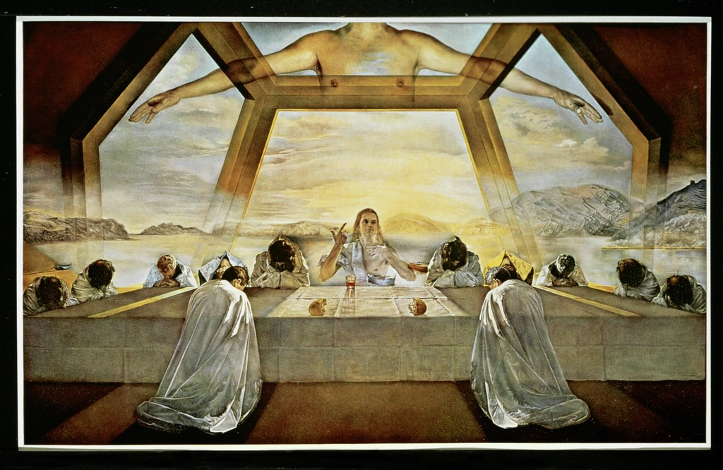 Salvador Dalí | The Sacrament of the Last Supper (1955) | Artsy