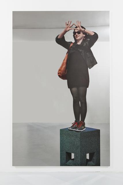 , 'Louvre (Ragazza),' 2013, Galleria Continua