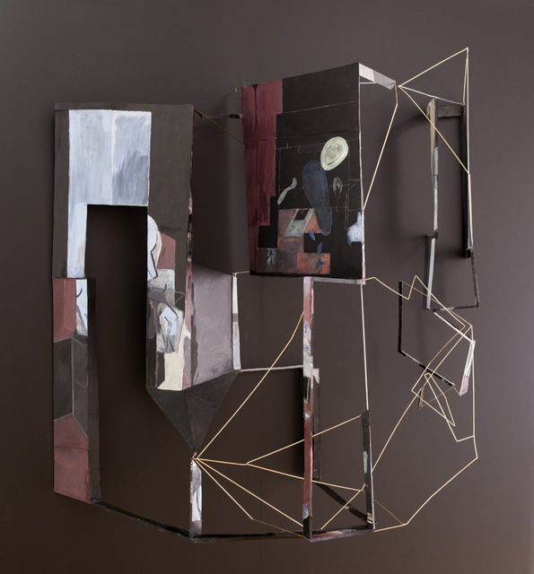, 'cut up dream and fold in time/order/space,' 2014, Mary Mary