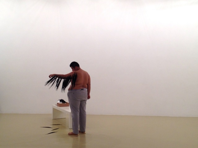 , 'Feather Piece,' 2013, Proyectos Ultravioleta