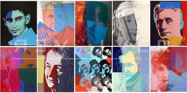 Andy Warhol, 'Ten Portraits of Jews of the Twentieth Century, Full Suite (FS II.226-235)', 1980, Print, Screenprint on Lenox Museum Board, Revolver Gallery