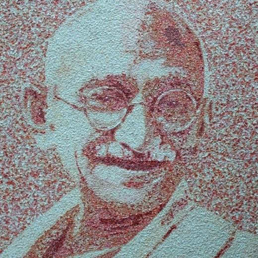 , 'Gandhi,' 2016, Eden Fine Art