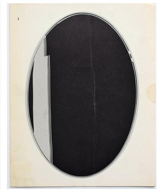 """Roy Lichtenstein, '""""Mirrors"""", 1971, Mailer/Exhibition Announcement, Leo Castelli Gallery NYC', 1971, VINCE fine arts/ephemera"""