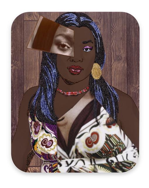 , 'Portrait of Qusuquzah #7,' 2016, Galerie Nathalie Obadia