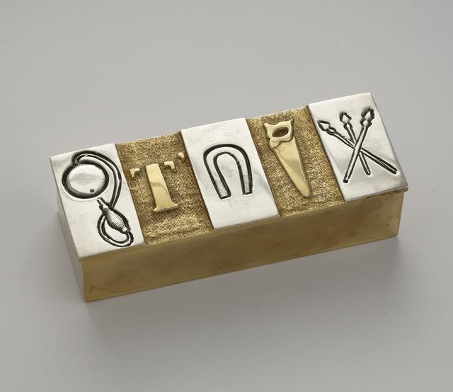 , 'Je t'aime en silence, Box,' 1942-1950, Maison Gerard