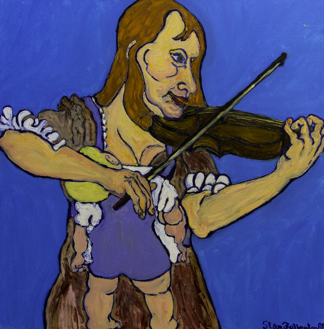 , 'Nursing Violinist,' 1988, Untitled 2.0
