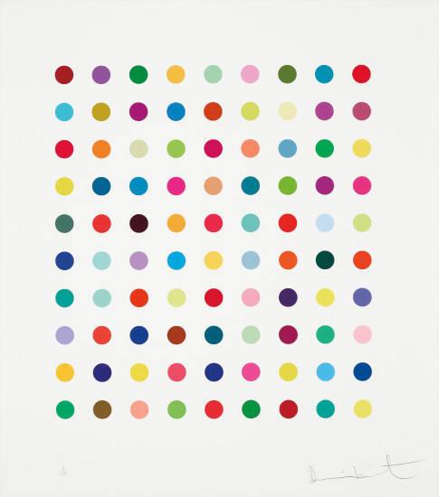 Damien Hirst, 'Lanatoside B', 2011, Vogtle Contemporary