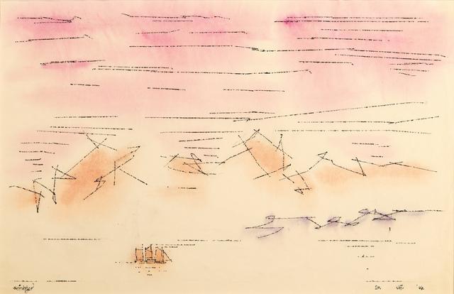 Lyonel Feininger, 'Sky Script', 1946, Moeller Fine Art