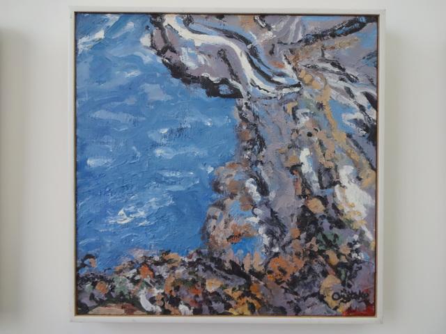 Mimi Oritsky, 'Nockamixon #33', 2017, Painting, Oil on linen, Amos Eno Gallery