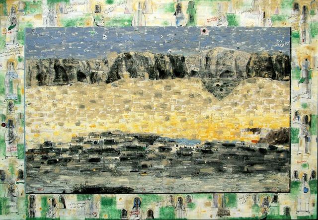 Nizar Sabour, 'AL QALAMOUN', Painting, MIXED MEDIA ON CANVAS, Mark Hachem Gallery