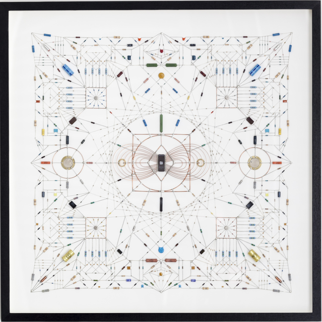 , 'Technologial Mandala 17,' 2013, Beers London