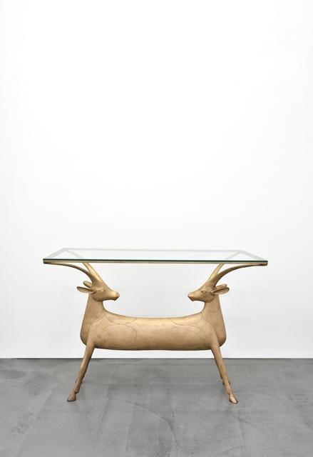, 'Table aux antilopes,' 2004, Galerie Mitterrand