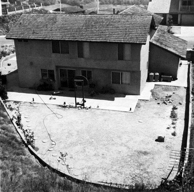 Joe Deal, 'Backyard, Diamond Bar, California', 1980, Robert Mann Gallery