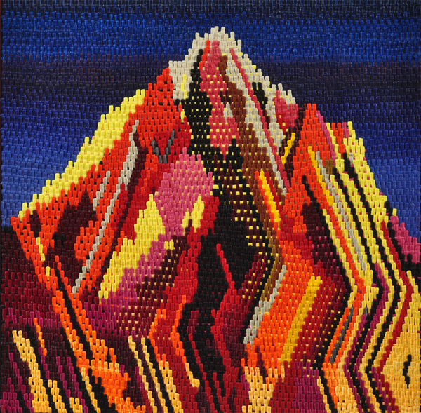 , 'Cross Stitch Mountain,' 2017, General Hardware Contemporary