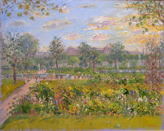 Bruno Zupan, 'Tuileries Garden In August ', Off The Wall Gallery