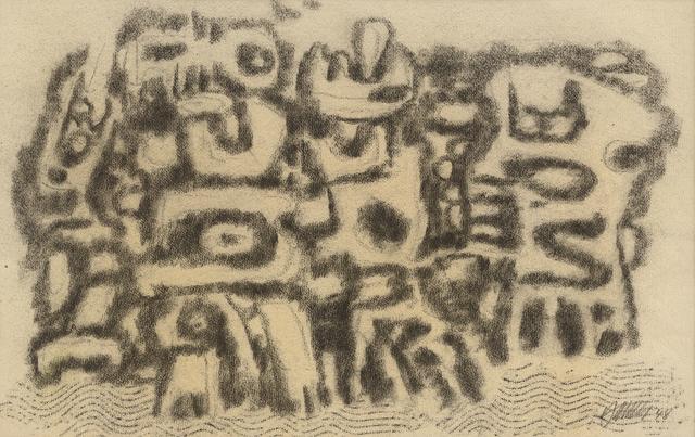 , 'Aufzug der Urzeitgestalten (Parade of the Prehistoric Creatures),' 1948, Galerie Klaus Gerrit Friese