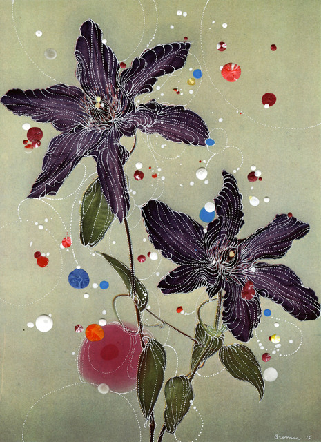 , 'Clematic Hybrid Prins Hendrik ,' 2015, Edwynn Houk Gallery