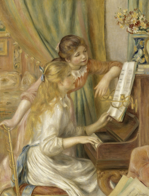 , 'Girls at the Piano ,' 1892, The National Art Center, Tokyo