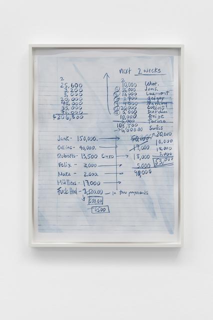 , 'Listen (WTF!),' 2018, Galerie Mehdi Chouakri