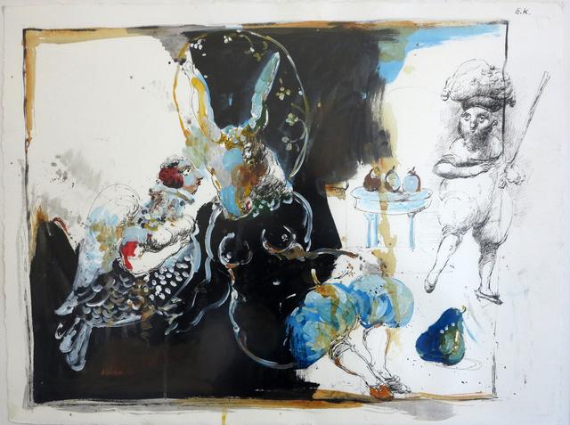 "Emil Kazaz, '""Donkis Redandou""', 2000, Galeri 77"