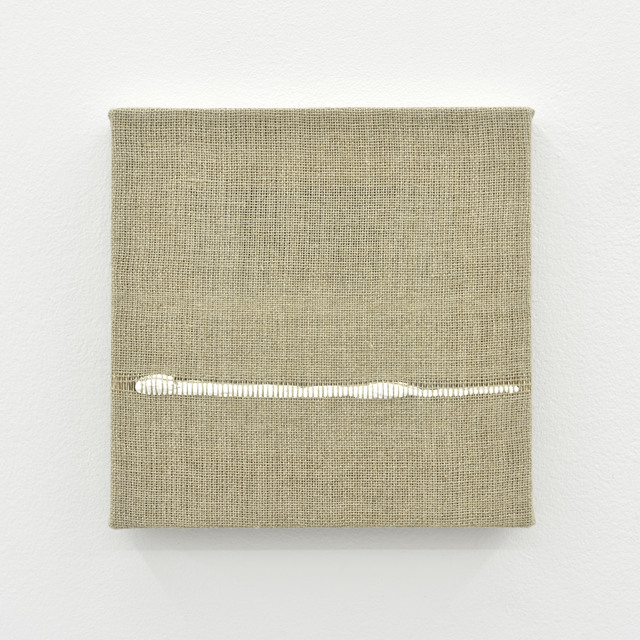 , 'Composition for Woven Horizon Line (White),' 2017, PRAZ-DELAVALLADE